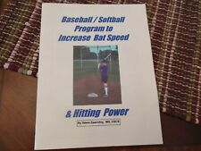 Baseball Softball Instruction Program Increase Bat Speed And Hitting Power.
