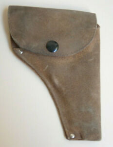 AFTER WWII LEATHER ARMY pistol HOLSTER GUN CASE MILITARY UNKNOWN MODEL