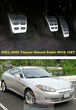 For 2003-08 HYUNDAI TIBURON COUPE MANUAL Accel Clutch Brake Foot Rest PEDAL 1SET