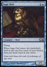 MTG 4x SAGE OWL - GUFO SAPIENTE - M10 - MAGIC