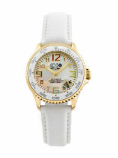 3H Women's L6WC Oceandiver PVD gold Swiss Automatic Interchangeable Band Watch