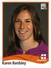 Panini FIFA World Cup 2011 Germany Women Sticker #161 Karen Bardsley England