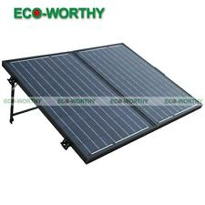 160W Mono Folding Solar Panel Module Foldable Kit PV Power for Camping,Outdoor