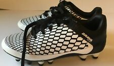 Brava Youth Soccer Shoes for Boys Size 1.5, Black/White Very Clean