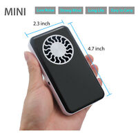 USB Mini Portable Hand-held Fan Pocket Rechargeable Cooling Air Travel Cooler