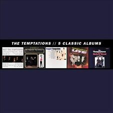 The Temptations: 5 Classic Albums ~ Sealed 5-CD Box Set (2013, Motown)