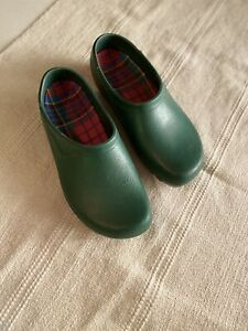 VGUC Jolly Fashion by Alsa Women's Size 9 40 Green Clogs Waterproof Garden Shoes