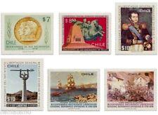 Chile 1978 #930-35 Bicentenario Nacimiento Libertador Bernardo O´Higgins MNH
