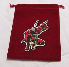 Marvel Dice Masters AVENGERS vs X-Men AVX *--* DEADPOOL *__* Drawstring DICE BAG
