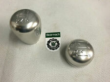 BEARMACH LAND ROVER DEFENDER R380 GEARBOX ALUMINIUM GEAR KNOBS POLISHED