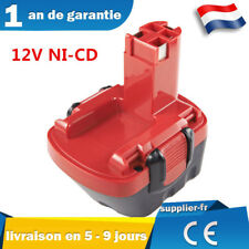 Batterie pour Bosch psr12ve-2 gsr12ve-2 gsb12ve-2 PSB 12ve-2 GLI 12V  2607335531