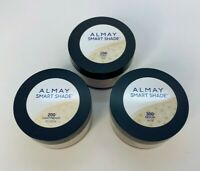 Almay Smart Shade Loose Finishing Powder: 100 Light, 200 Light/Medium 300 Medium