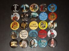Harry Potter Buttons /  Pins 25