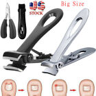 Extra Large Toe Nail Clippers For Thick Hard Nails Cutter Heavy Duty Stainless