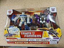 Transformers Classics Deluxe Ultra Magnus vs Skywarp - Great Condition