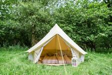 3m Bell Tent Zipped In Groundsheet  100% Cotton Canvas by Life Under Canvas
