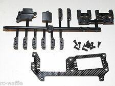 MUGE2017 MUGEN SEIKI MGT7 1/8 GT NITRO ON-ROAD CARBON FIBER SERVO MOUNT KIT