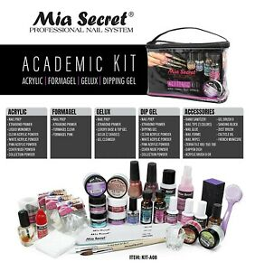 Mia Secret Professional Academic Nail Kit  Set For Beginners - Students Kit 08