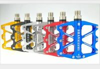 Aluminum MTB Mountain Road Bike Pedals flat Platform Bicycle Pedal 4 Sealed