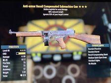 Anti Armor Submachine Gun Explosive - Fallout 76 Xbox One