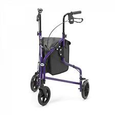 Days Lightweight Aluminium Tri Wheel Walker Purple - 091541929