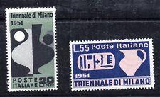 Timbres d'Italie, n°605 et 606, N**