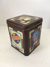Vintage Tin Box with Lid Hershey 1997 Millennium Series Canister #2