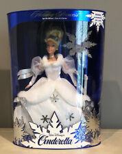 Vintage 1996 Holiday Princess Walt Disney Cinderella Barbie 1st in Series 16090