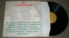 FAMILY PORTRAIT vinyl LP A&M Flying Burritos Stealers Wheel Strawbs Arthur Lee..