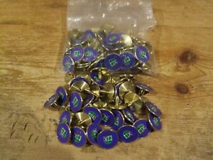 St. Andrews Old Course Golf Ball Markers Blue Spike - Bags of 50,100 & 250