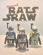 Lego Star Wars Minifigures-Clone Custom Troopers Arc comdrs Havoc, Colt, Blitz