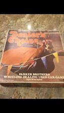 RARE Vintage 1972 DEALERS CHOICE Parker Brothers Used Car Board Game Complete