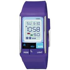 Casio Women's Poptone Purple LCD Alarm Day Date 50M Digital Watch LDF52-6A