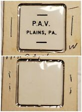 P A V Polish Am Vets Plains PA good for ? in trade token gft582 R4 VERY RARE