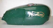 Vintage NORTON Commando Green Motorcycle Fuel Gas Tank