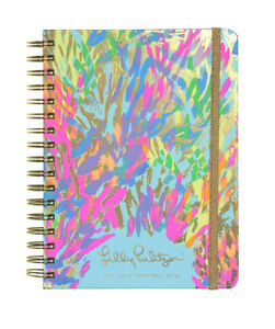 NEW Lilly Pulitzer 2017 2018 Large 17 MONTHS Large AGENDA Multi Sparkling Sands