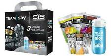 SIS TEAM SKY 3 HOUR FUEL PACK + 600ml BIKE BOTTLE (Cycling Bar, Gel, Powders)