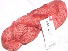 Coral Pink DUSTY 100gr 210yd Skein Malabrigo WORSTED Merino Wool SOFT YARN Felts