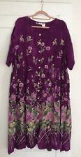 LA CERA Plus Size 4X Gorgeous Button Front Patio Dress/Nightgown