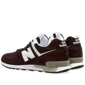 New Balance Lifestyle M576DBW – Made in England Brown Suede New Classic UK 10