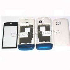 Fascia Housing Back Battery Cover Keypad For Nokia C5 03 C5-03 White/Blue New UK