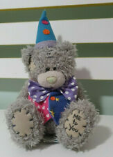 ME TO YOU CARTE BLANCHE TEDDY BEAR PLUSH TOY! SOFT TOY HAT VEST AND BOW 18CM