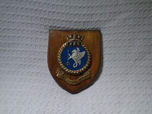 Royal Navy Fleet Air Arm 826 Naval Air Squadron Wall Plaque Crest Shield