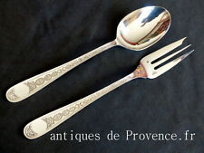 CHRISTOFLE VILLEROY Nice Serving set fork & spoon 2pcs / couverts de service