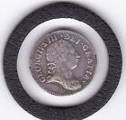 Sharp  1762  King  George   III  Threepence  (3d)  Silver (92.5%) Coin