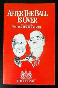 After The Ball Is Over programme The Old Vic theatre 1985 Patrick Cargill