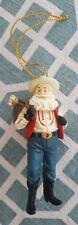 """itreekedyou.com Cowboy Santa Claus Christmas 4"""" Ornament"""
