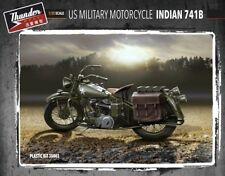 "MOTO MILITAIRE US ""INDIAN"" 741B, 1942 - KIT THUNDER MODEL 1/35 n° 35003"