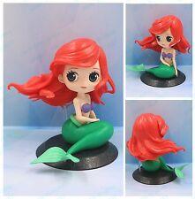 Q posket Disney Characters Little Mermaid GIRL PVC figure toy gift loose Ariel