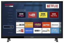 """Sharp 40"""" LED Smart TV Full HD 1080p With Freeview HD + Netflix & PVR"""